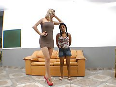 Brasilianisch, Femdom, Fuß Fetisch