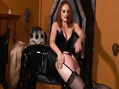 BDSM, Blonde, Redhead, Latex