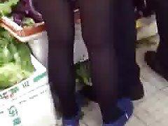 Asian, Chinese, Stockings