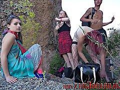 Amatér, Lesbičky, Spodní prádlo, Venkovní