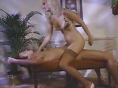 Anal, Group Sex, Stockings, Strapon