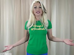 Blonde, Femdom, Pornstar, Spandex