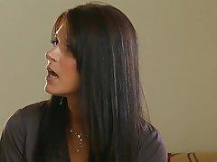 Brunette, Cumshot, MILF, Small Tits
