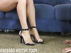 BDSM, Femdom, Fuß Fetisch, POV