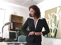 Mature, Face Sitting, Femdom, Secretary