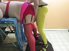 Anal, Femme dominatrice, Femmes en bas, Gode ceinture