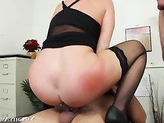 Asian, Blowjob, Cumshot, Secretary