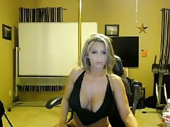 Blonde, Masturbation, MILF, Webcam