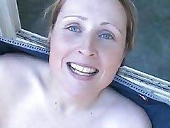 Bukkake, Sperma in faccia