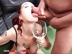 Slashing my tits