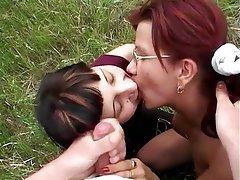 Cumshot, Bisexual, Group Sex
