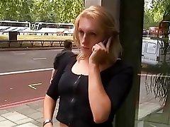 Blondýna, Británie, Gangbang, Skupinový sex