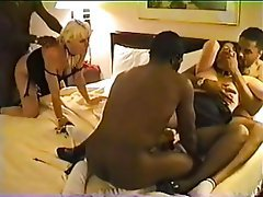Amateur, Gangbang, Interracial