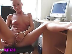 Amateur, Casting, German, Masturbation