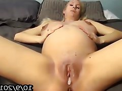 Amateur, Grosse Boobs, Blondine, Sahnetorte