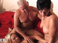 Big Boobs, Blonde, Cumshot, German