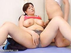 Asian, Big Tits, Creampie, MILF