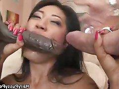 Asian, Group Sex, Hairy, Hardcore