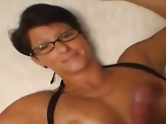 Amateur, Grosse Boobs, Angespritzt, MILF