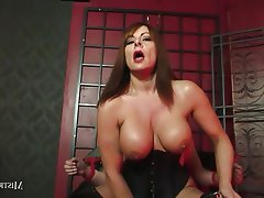 BDSM, Grosse Boobs, Angespritzt, Femdom