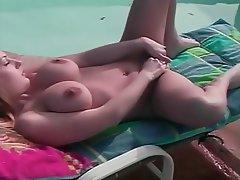 Blonde, Close Up, Hairy, Masturbation