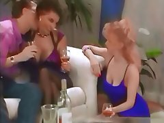 Big Boobs, British, Swinger, Threesome