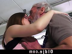 Blowjob, Cunnilingus, Old and Young, Spanking
