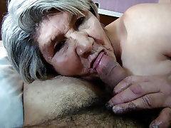 Blowjob, Granny