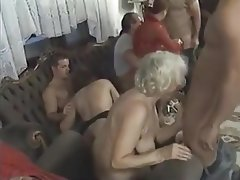 Granny, Group Sex, Vintage