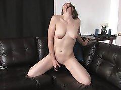 Brunette, Masturbation, Small Tits