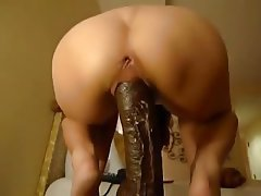 Dildo, Interracial, Squirt, Wife