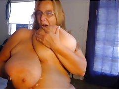 Webcam, Mature, MILF, Granny