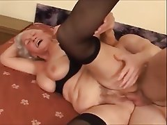 Cuckold licks cum from pussy fetish