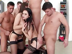 Group Sex, Facial, Double Penetration
