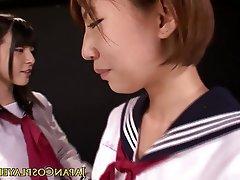 Japanisch, Lesbisch, Spritzen