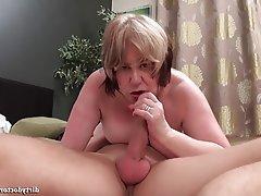 Big Nipples, Blowjob, Cumshot, Maid