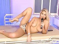 British, Big Boobs, High Heels, Webcam