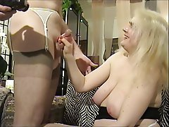 Amateur, Blowjob, Nipples, Pantyhose
