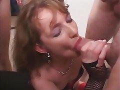 Ağzına boşalmak, Toplu tecavüz, Grup seks