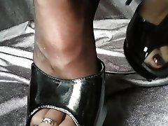 Strümpfe, Fuß Fetisch, Strumpfhose, Hoher Absatz