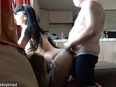 Bikini, Creampie, Old and Young, Wife