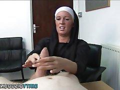 BDSM, British, Femdom, Handjob