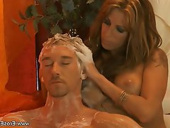 Blonde, Massage, MILF