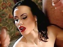 Sperma in faccia, Closeup, Pompini