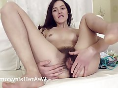 Brunette, Hairy, Russian, Small Tits