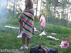 Mamada, Disparo de Corrida, Sexo en Grupo