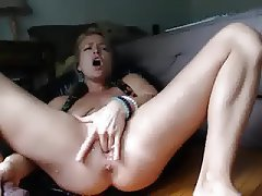 Babe, Blonde, Masturbation, Squirt