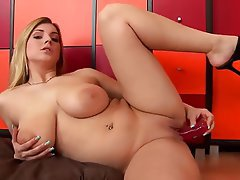 Big Boobs, Czech, Masturbation, Solo