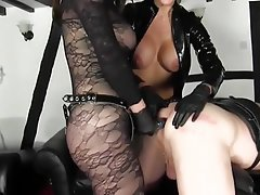 Big Boobs, Femdom, High Heels, Latex