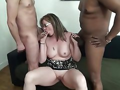 Blonde, Interracial, MILF, Old and Young